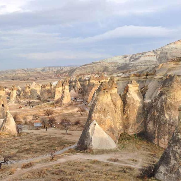 Cappadocia Pasabaglar valley