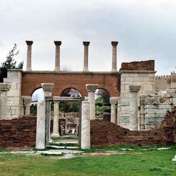 Ephesus Selçuk,_the_entrance_to_the_Basilica_of_St._John