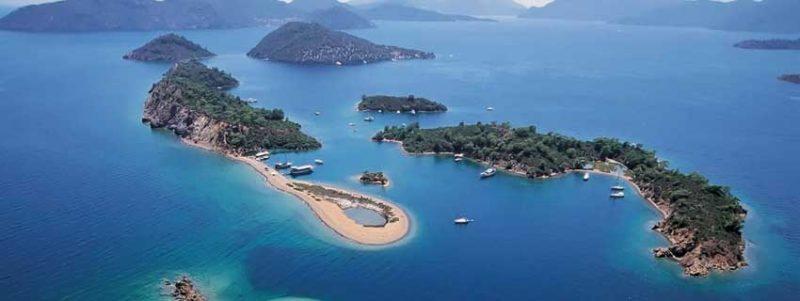 Fethiye islands