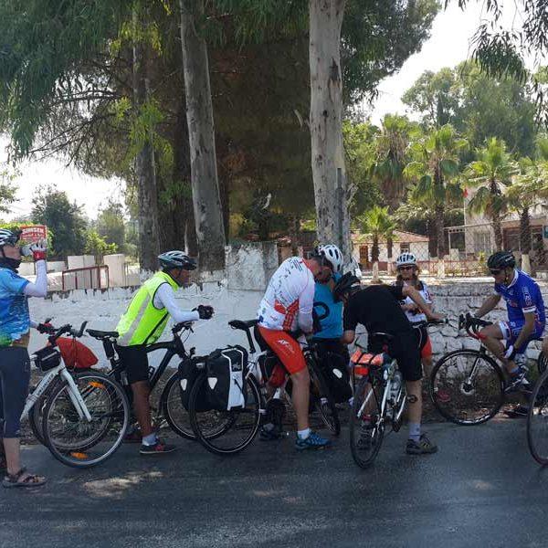 Lycia Dalyan Cycling tour