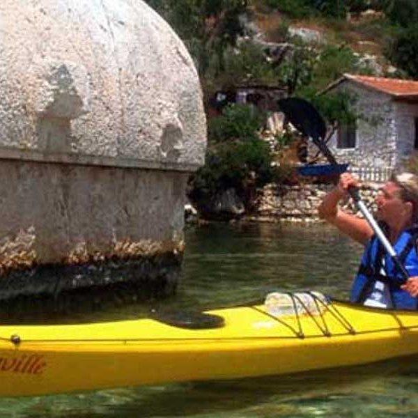 Lycia sea-kayaking