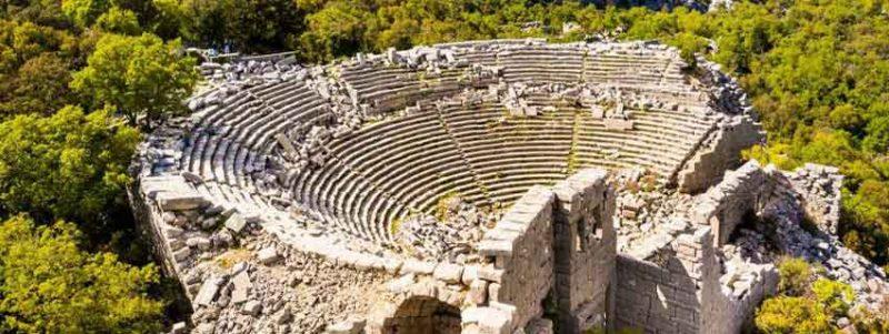 Termessos ancient city the amphitheatre