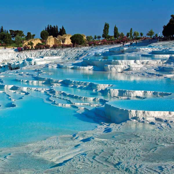 Travertines-Pamukkale