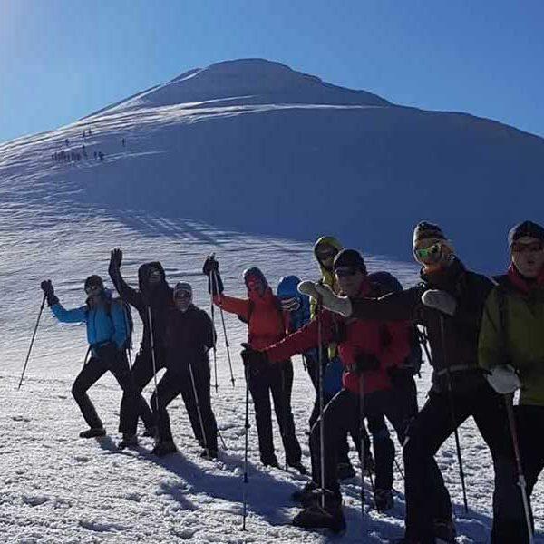 Mt Ararat ski de randonnée