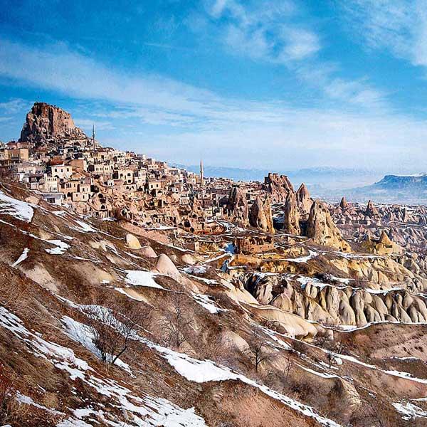 cappadoce en hiver cappadocia in winter