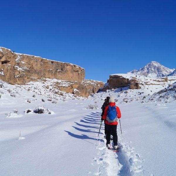 cappadocia snowshoes