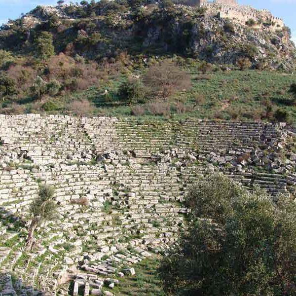 Kaunos acropolis caunos