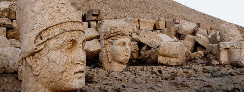 Statues at Mount Nemrut, South East Turkey