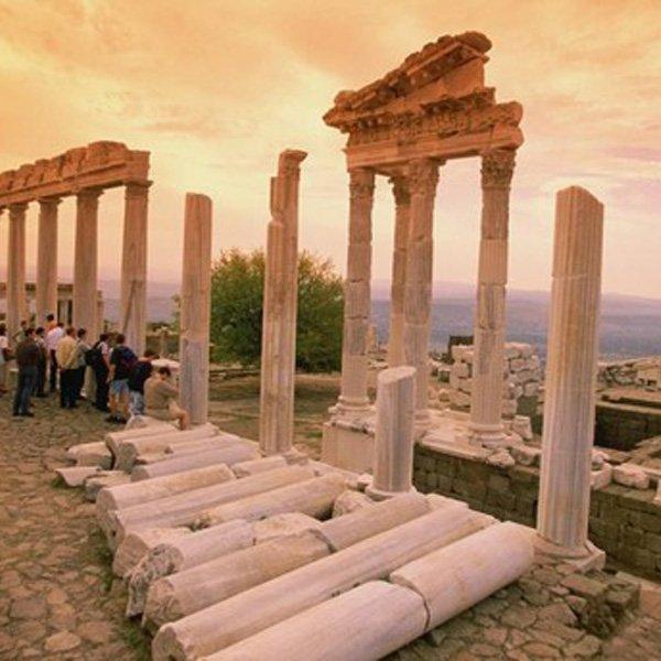 Pergame Bergama pergamon ancient city